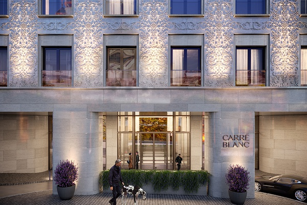 LOBBY will advise and supervise the art collection for the CARRÉ BLANC